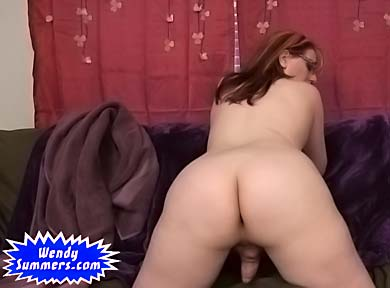 Nasty MILF ass